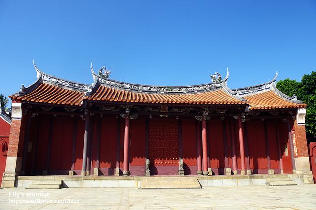 彰化孔廟的外牆,有種古樸的美。