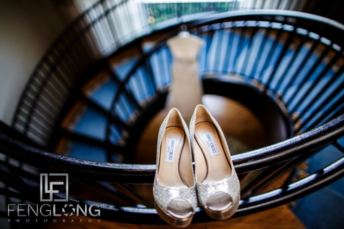 Jimmy Choo | Maggie & Michael's Wedding | Lioncrest at Biltmore Estate | Asheville North Carolina Destination Wedding Photographer