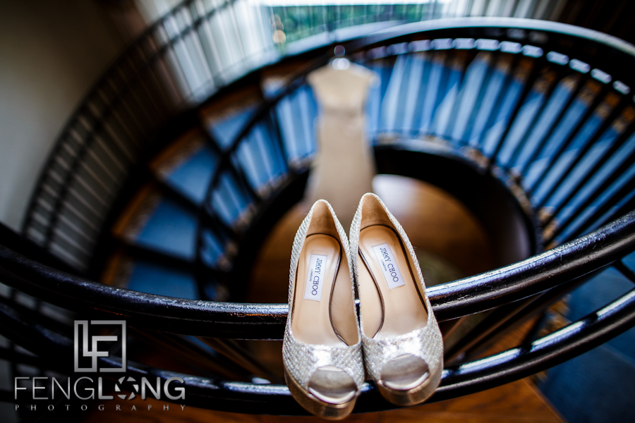 Jimmy Choo | Maggie & Michael's Wedding | Lioncrest at Biltmore Estate | Asheville North Carolina Destination Wedding Photographer