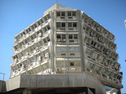 בניין מכוער בבאר-שבע