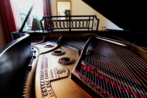 Steinway Grand at the Monument House, Utrecht