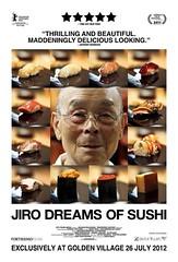 Advert for Jiro Dreams of Sushi