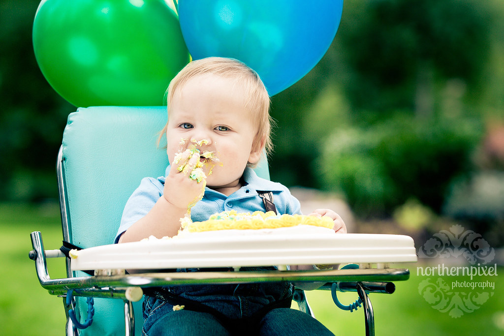 Nate's 1st Birthday PhotoSession