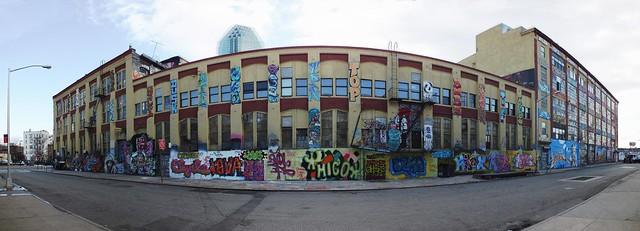 5Pointz Graffiti Centre, New York.