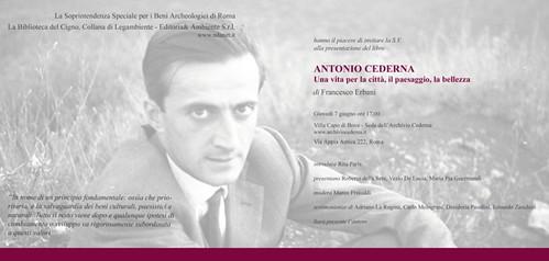 ROMA ARCHEOLOGIA: Antonio Cederna, l'instancabile; «Scrivo da sempre lo stesso articolo, finché le cose non cambieranno continuerò imperterrito a scrivere le stesse cose», di Antonio Cederna. IL FATTO QUOTIDIANO/ Patrimoniosos.it (11/08/2012). by Martin G. Conde