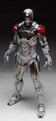 HT 1-6 Iron Man Mark IV (Hot Toys) Custom Paint Job by Zed22 (5)