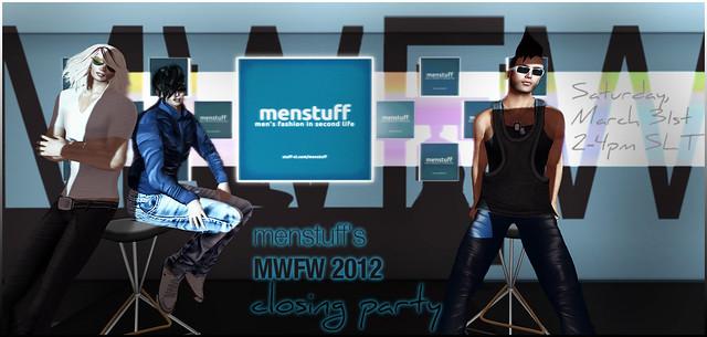 MENstuff's closing party - MWFW 2012