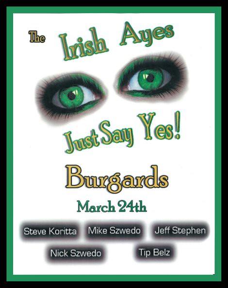 Irish Ayes at Burgard's 3-24-12