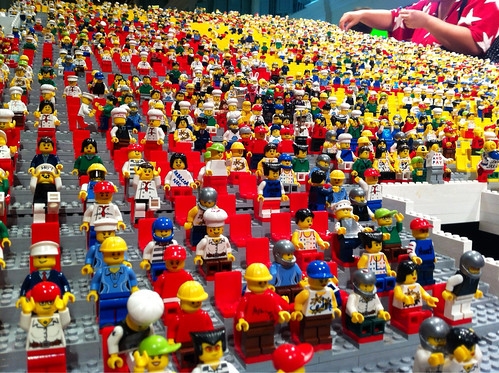 Lego Minifigs Display by Clement Soh