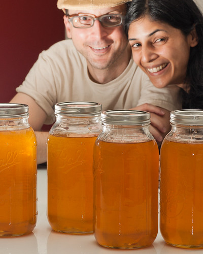 Two gallons of honey