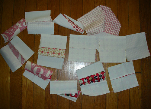 Filmstrip-pieced