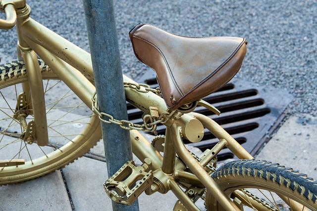 King Midas gold bike