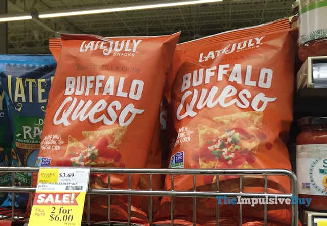 Late July Snacks Buffalo Queso Tortilla Chips