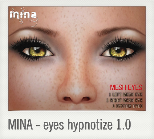 hypno eyes by Mina @ The Deck