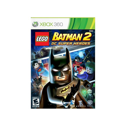 LEGO Batman 2: DC Superheroes Xbox Box Art