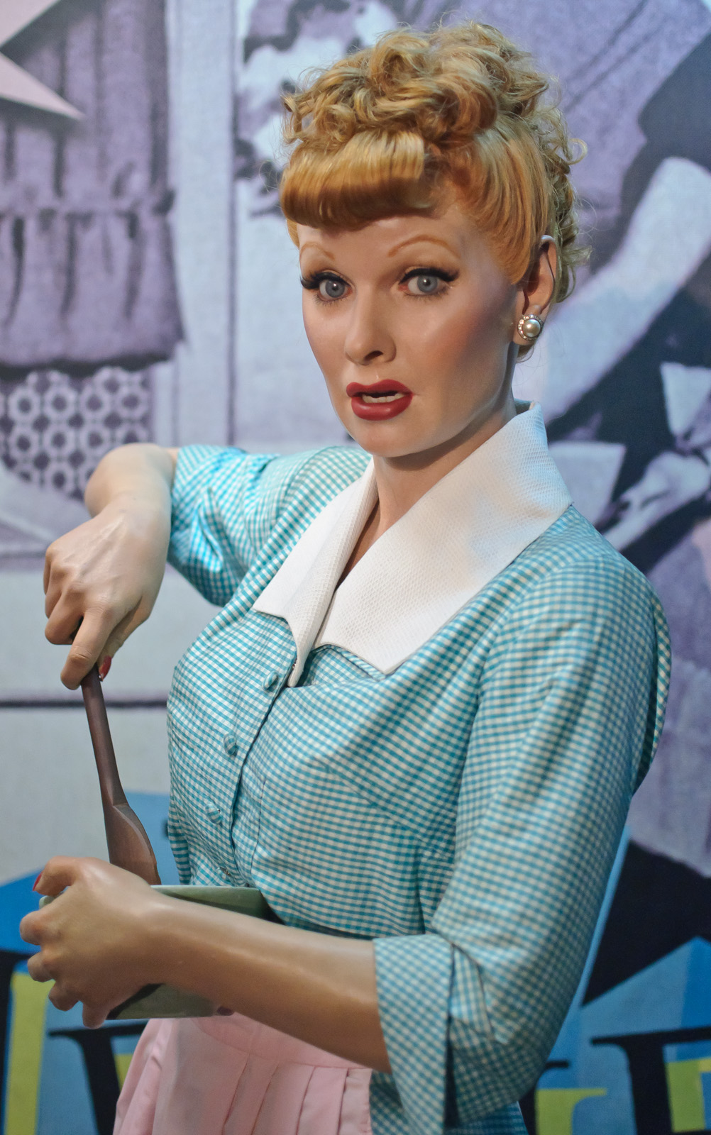 Lucille Ball At Madame Tussauds New York Flickr Photo