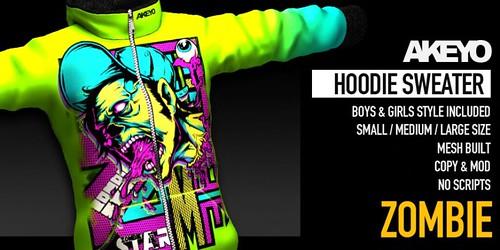 Akeyo Hoodie [Mesh] @ The Deck