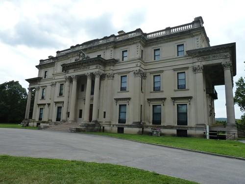 Front Facade, Vanderbilt Mansion, Hyde Park, NY