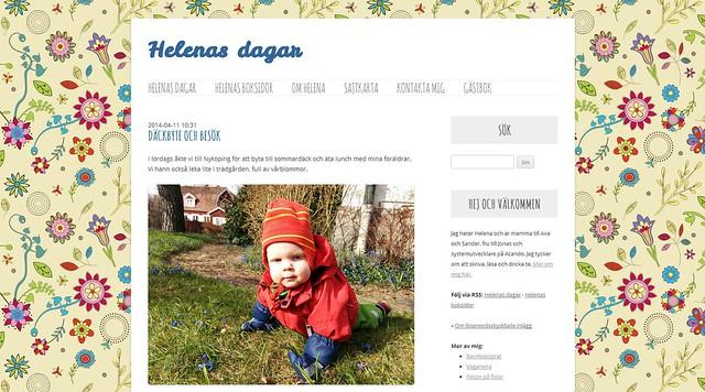 Helenas dagar april 2014