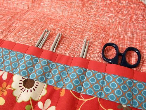 Crochet hook wrap