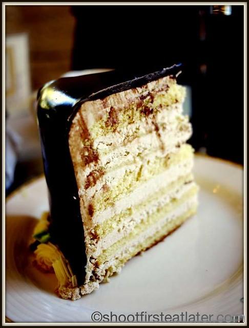 Sweet Lady Jane - 7 layer mocha cake