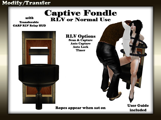 RLV Captive Stand (female)