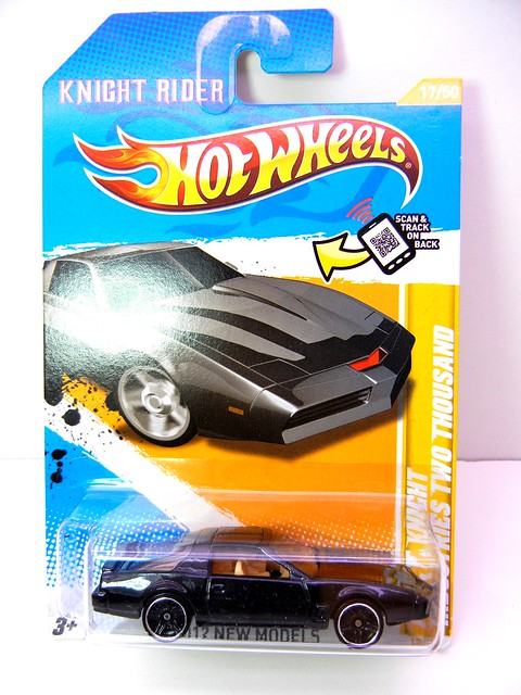 hot wheels KITT KNIGHT INDUSTRIES TWO THOUSAND (1)