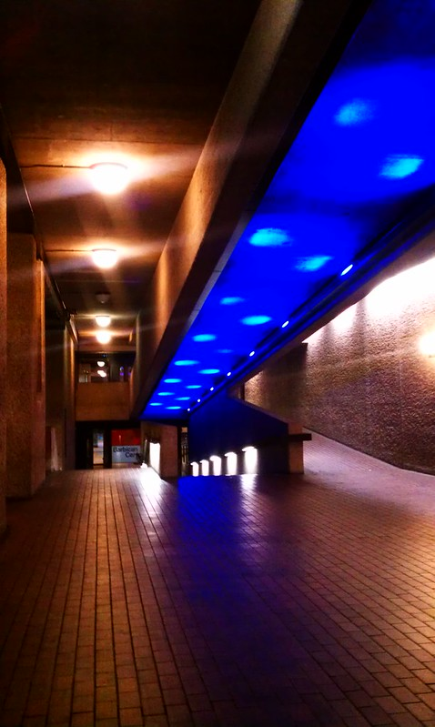 Beautiful interior spaces at The Barbican Centre, London
