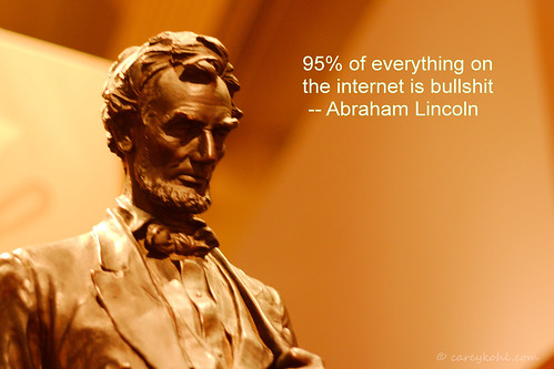 Honest Abe's Words To Live By by Carey 1964