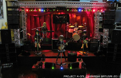 Project K-ON! Live Concert Stage Diorama by Kakashi Batusai - Figma -gundamph (27)