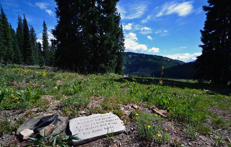 Monument, Kebler Pass, Colorado