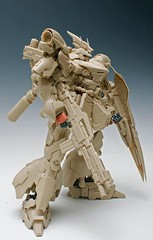GMG 1-100 Sazabi Formania Version Resin Conversion Kit Complete Final Cast (16)