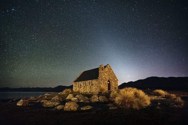 Starfield at the Church of the Good Shepherd