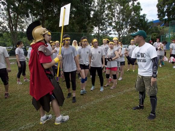 Starge briefing BU Spartan...