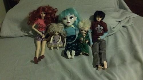 The Dolls I Took to Otakon With Me
