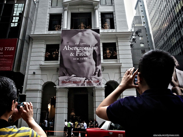 A&F Hong Kong opening