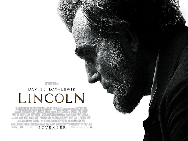 Película Lincoln trailer internacional — Daniel Day-Lewis