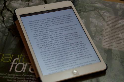 機内誌KiaOra on iPad