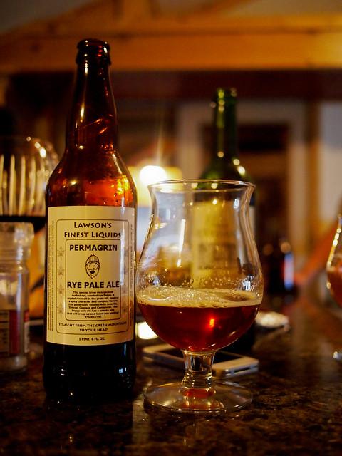 Permagrin Rye Pale Ale - Lawson's Finest Liquids