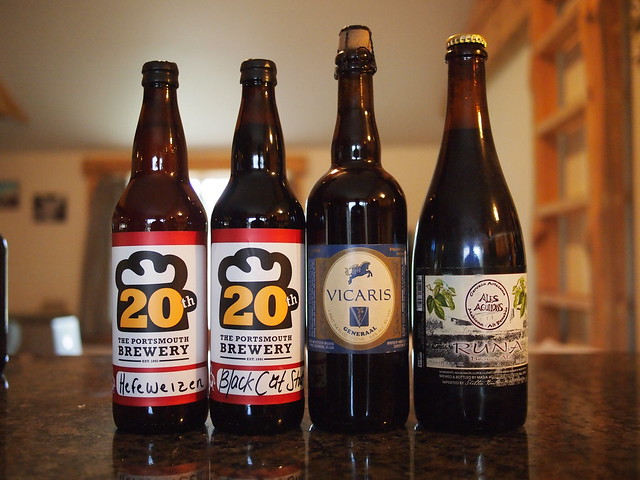 Portsmouth Brewing and MJ's Rare Beer Club Beer Mail - Haul