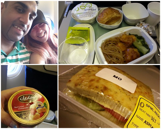 Korea Air Plane Food