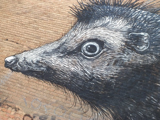 Roa Graffiti, Shoreditch, London