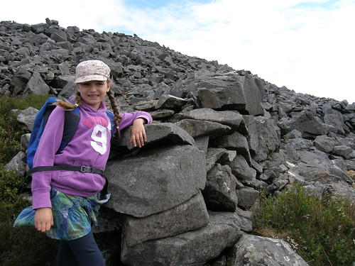A and the Iron Age wall