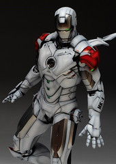 HT 1-6 Iron Man Mark IV (Hot Toys) Custom Paint Job by Zed22 (1)