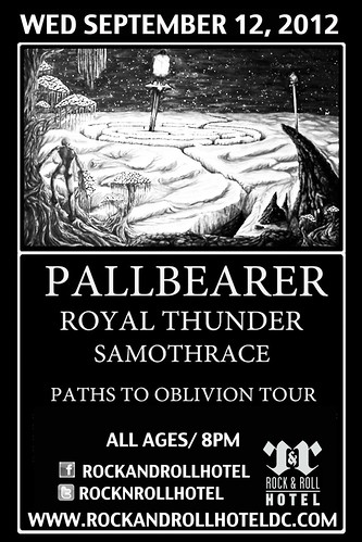 Pallbearer at the Rock & Roll Hotel