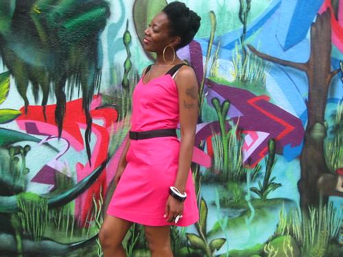 "The ""Barbie Pink"" Prom Dress"