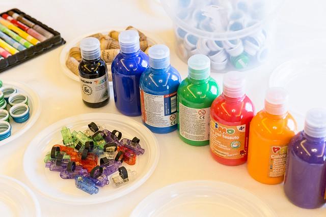 laboratorio artistico - decora il body del tuo bambino