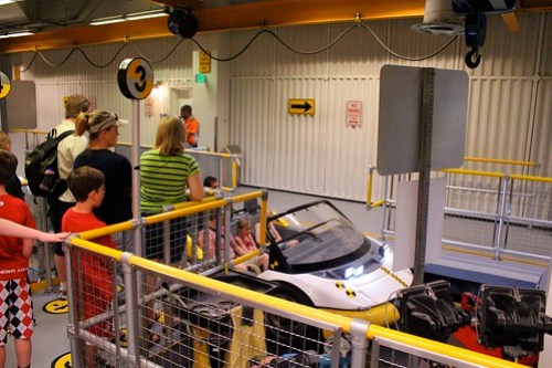 Loading - Test Track at Epcot