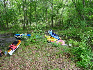 Kayaks at Lunch