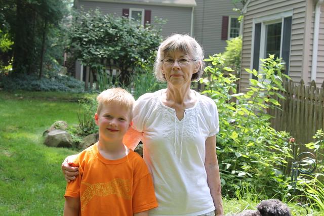 Clark and Grandma